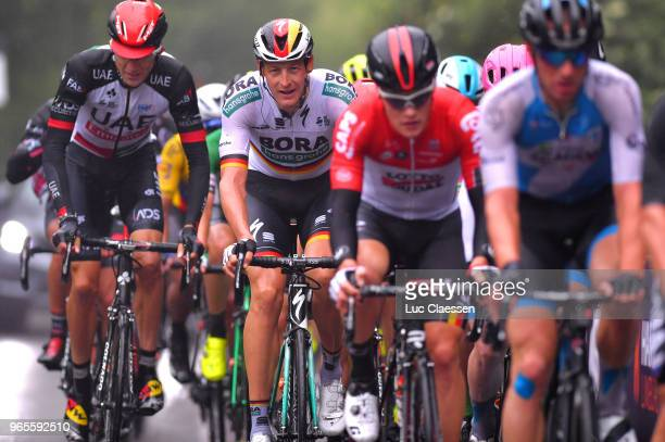 Marcus Burghardt of Germany and Team BoraHansgrohe / during the 3rd Velon Hammer Series 2018 Stage 1 a 77km race from Vaals to Drielandenpunt 327m /...