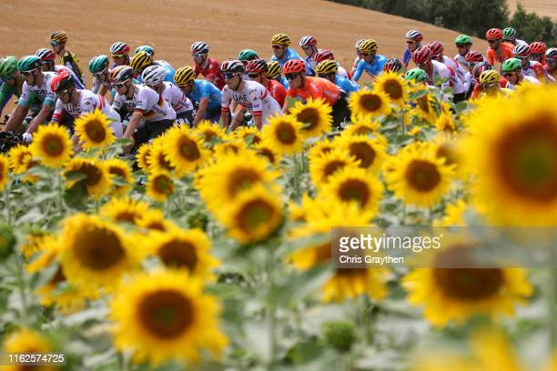 Marcus Burghardt of Germany and Team BoraHansgrohe / Maximilian Schachmann of Germany and Team BoraHansgrohe / Alexander Kristoff of Norway and UAE...