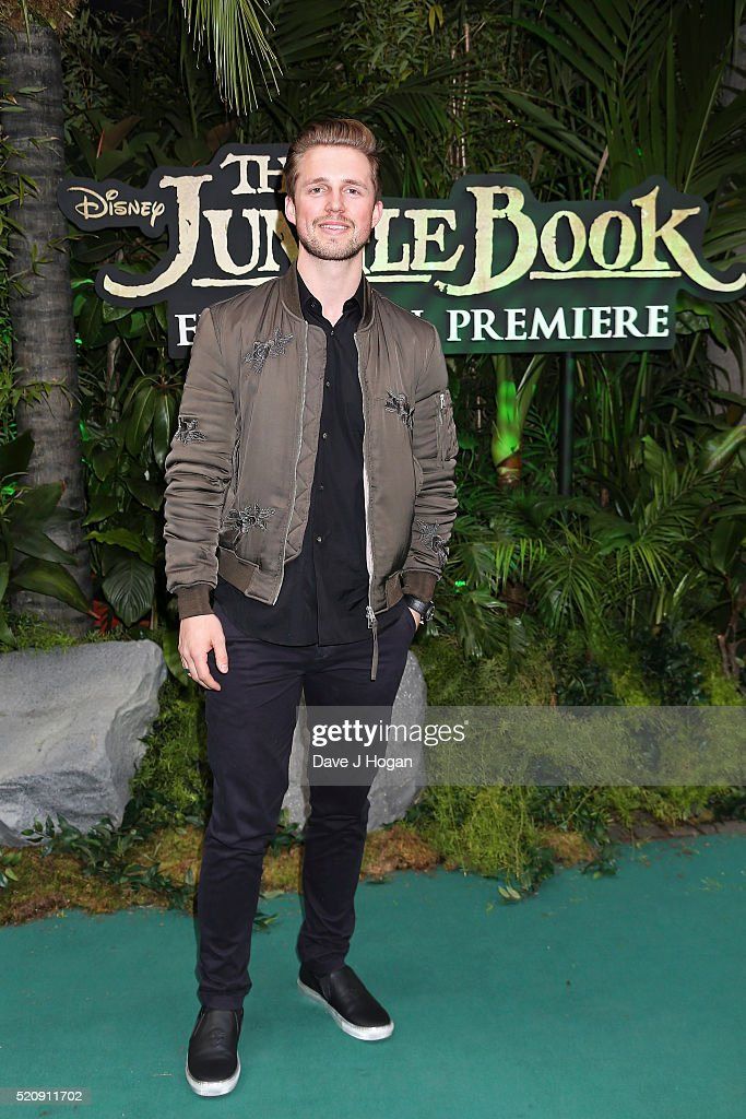 Marcus Butler arrives for the European premiere of 'The Jungle Book' at BFI IMAX on April 13, 2016 in London, England.
