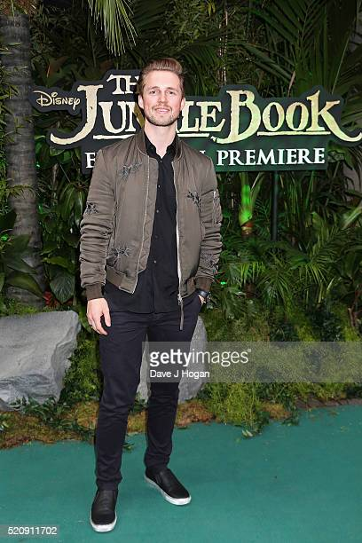 Marcus Butler arrives for the European premiere of The Jungle Book at BFI IMAX on April 13 2016 in London England