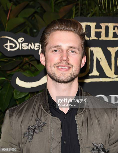 Marcus Butler arrives for the European Premiere of 'The Jungle Book' at BFI IMAX on April 13 2016 in London England