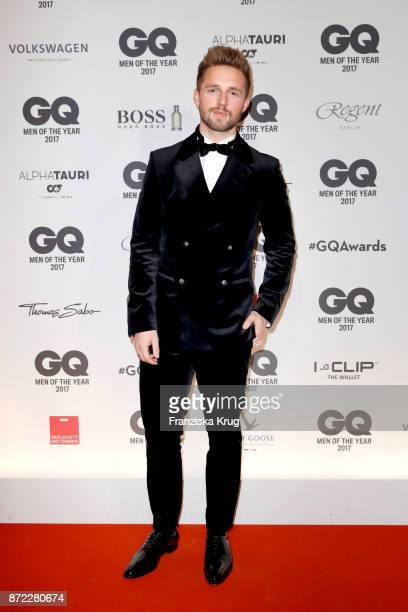Marcus Butler arrives for the GQ Men of the year Award 2017 at Komische Oper on November 9 2017 in Berlin Germany