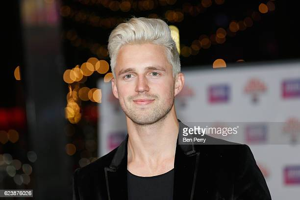 Marcus Butler attends the UK Premiere of Joe Casper Hit The Road USA at Cineworld Leicester Square on November 17 2016 in London England