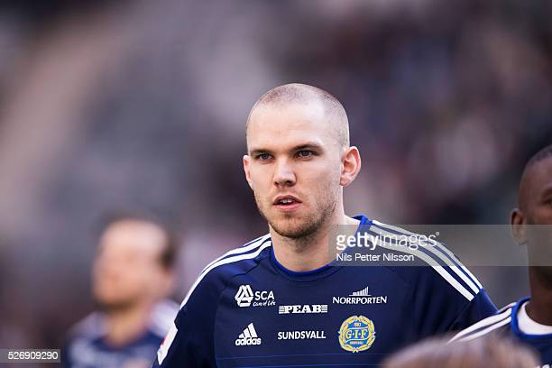 Marcus Danielsson of GIF Sundsvall during the Allsvenskan match between Hammarby IF and GIF Sundsvall at Tele2 Arena on May 1 2016 in Stockholm Sweden