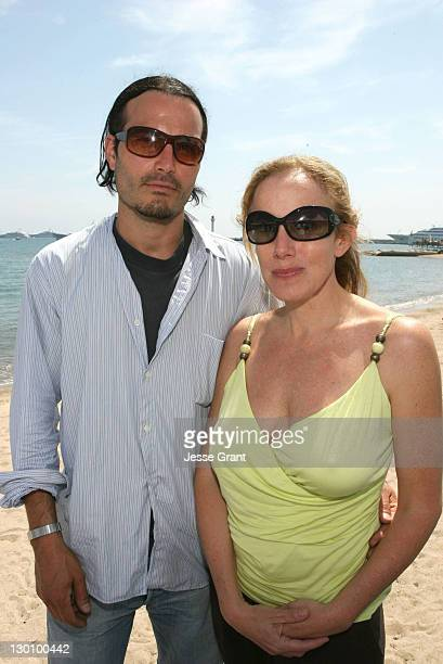 Marcus Dean Pirae and Elana Krausz during 2006 Cannes Film Festival American Pavillion Day 5 at American Pavillion in Cannes France