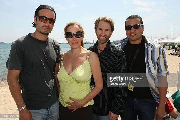 Marcus Dean Pirae Elana Krausz and Guests during 2006 Cannes Film Festival American Pavillion Day 5 at American Pavillion in Cannes France