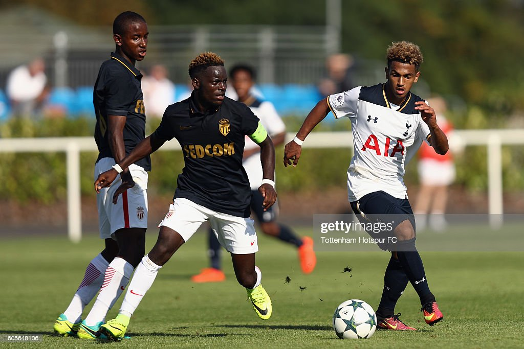 Tottenham Hotspur FC v AS Monaco FC - UEFA Youth Champions League : News Photo