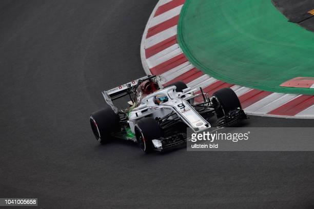 Marcus Ericsson, Alfa Romeo Sauber, F1 Team, formula 1 GP, Test, Barcelona Spanien,