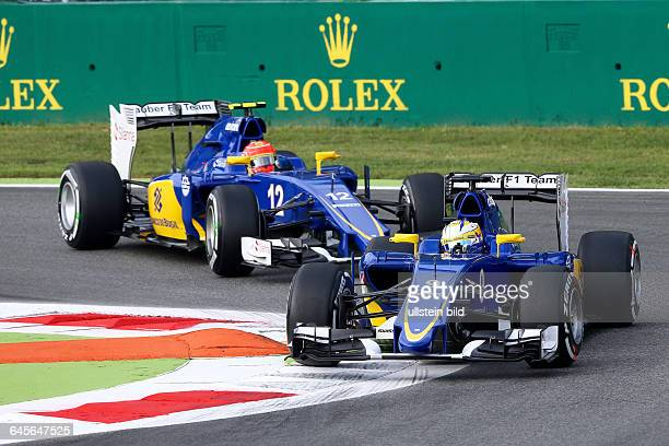 Marcus Ericsson Felipe Nasr Sauber F1 Team formula 1 GP Italien in Monza