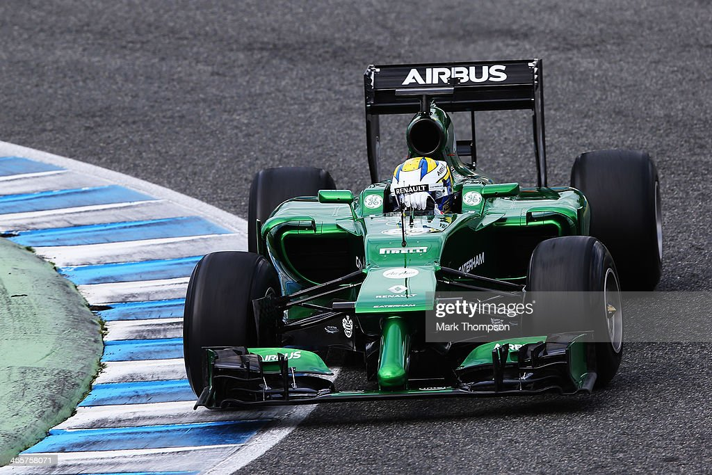 F1 Testing in Jerez - Day Two : News Photo