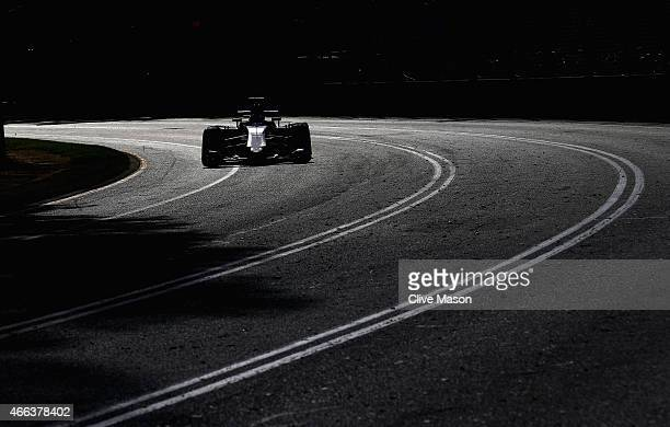 Marcus Ericsson of Sweden and Sauber F1 drives during the Australian Formula One Grand Prix at Albert Park on March 15 2015 in Melbourne Australia