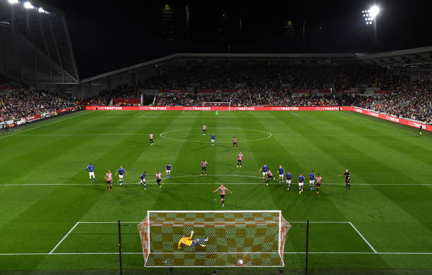 GBR: Brentford v Oldham Athletic - Carabao Cup Third Round