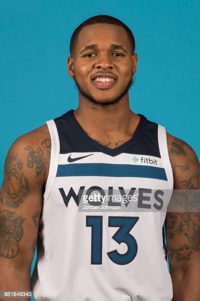 Marcus GeorgesHunt poses for a portrait during 2017 Media Day on September 22 2017 at the Minnesota Timberwolves and Lynx Courts at Mayo Clinic...