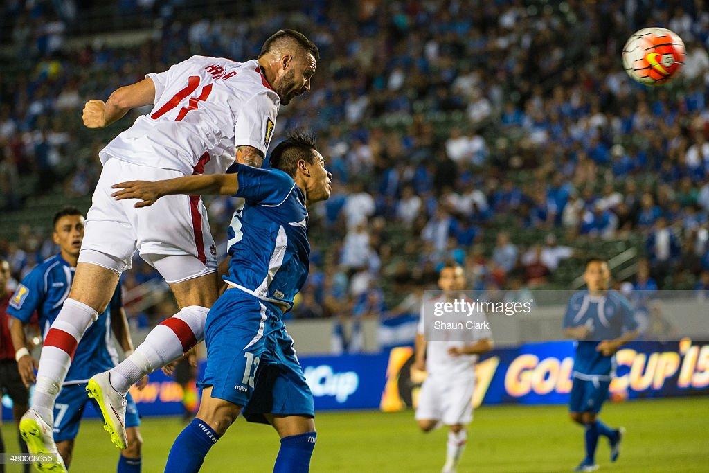 2015 CONCACAF Gold Cup - Group B - El Salvador v. Canada : News Photo