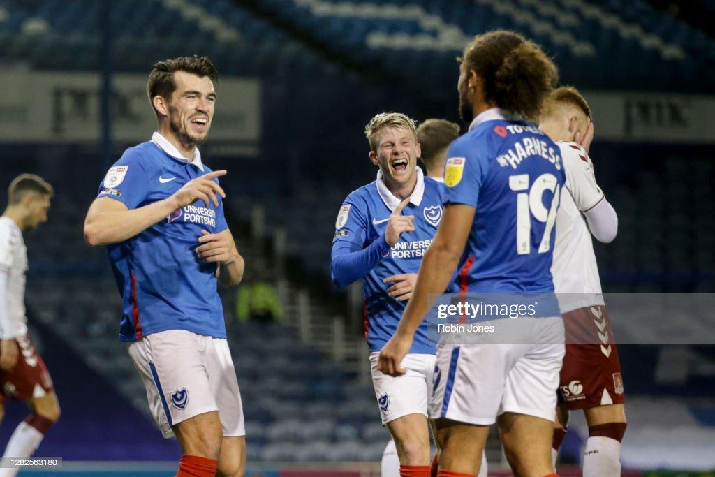 Portsmouth v Northampton Town - Sky Bet League One : News Photo