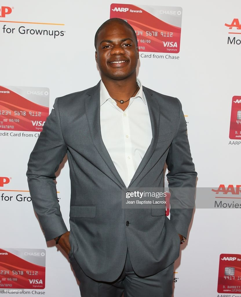 Marcus Henderson attends the AARP's 17th Annual Movies For Grownups Awards on February 05, 2018 in Beverly Hills, California.