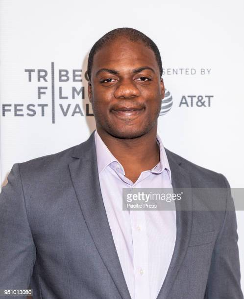 Marcus Henderson attends the screening of 'Tantalum' at Tribeca TV Indie Pilots during the 2018 Tribeca Film Festival at Cinepolis Chelsea Manhattan