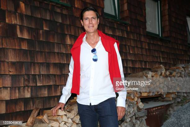 Marcus Hoefl during the first Ladies Day and start of the Queens Club hosted by Maria HoeflRiesch on June 26 2020 at Berggasthof Sonnbuehel in...