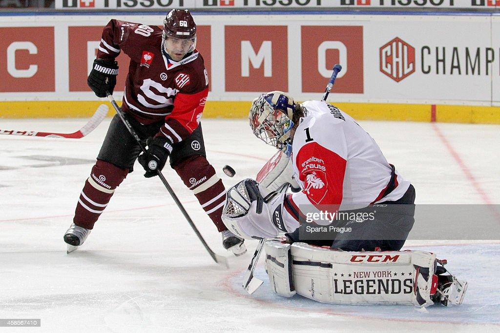 Sparta Prague v Linkoping HC - Champions Hockey League Round of 16