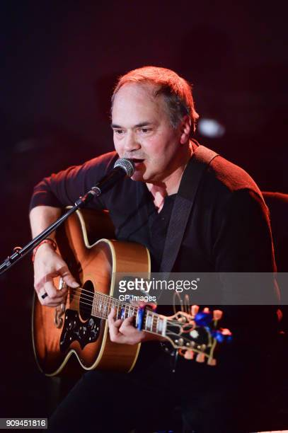 Marcus Hummon performs at the CMA Songwriters Series held at the Great Hall on January 23 2018 in Toronto Canada
