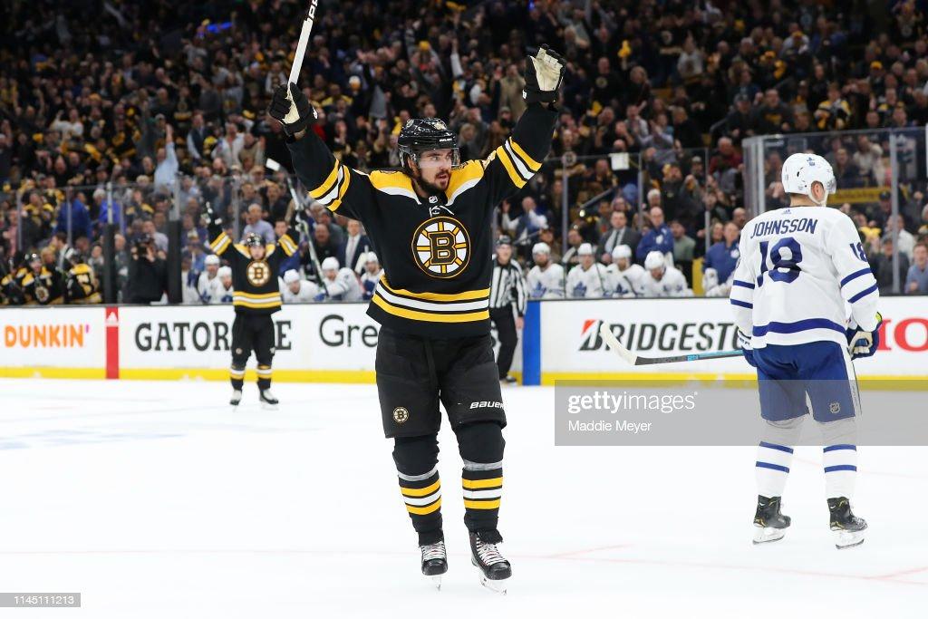 Toronto Maple Leafs v Boston Bruins - Game Seven : News Photo