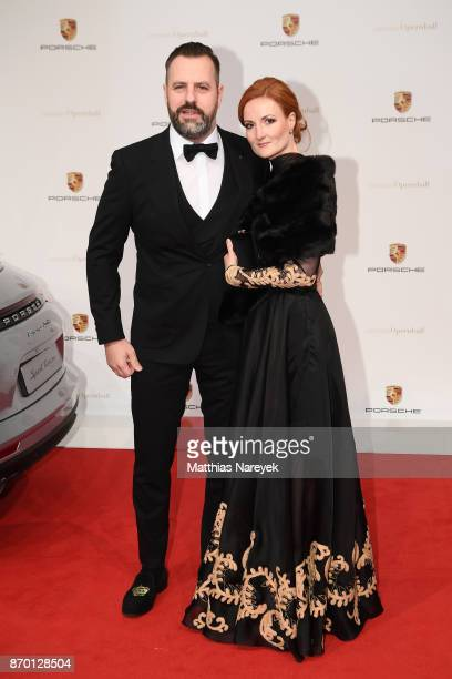 Marcus Kahl and Stephanie Kahl attend the Leipzig Opera Ball on November 4 2017 in Leipzig Germany