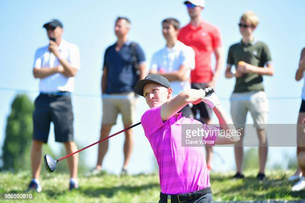 Marcus KINHULT of Sweden during the HNA French Open on June 28 2018 in SaintQuentinenYvelines France