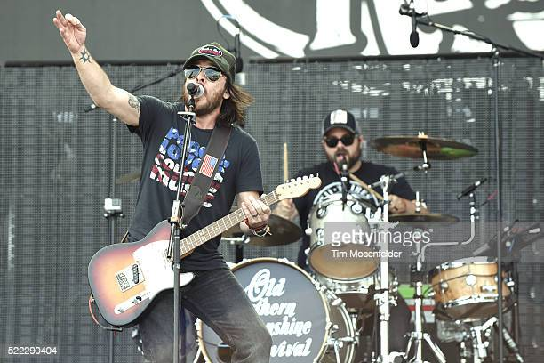 Marcus Kiser of Old Southern Moonshine Revival performs during the Tortuga Music Festival on April 17 2016 in Fort Lauderdale Florida