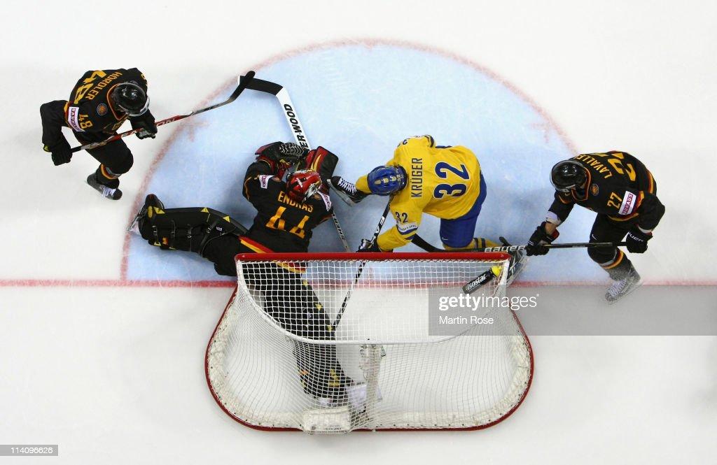 Sweden v Germany - 2011 IIHF World Championship