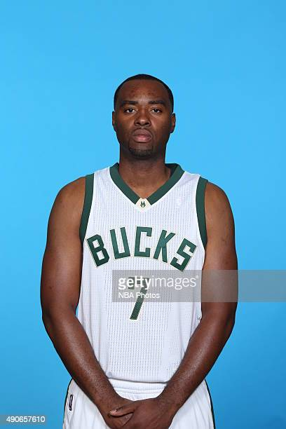 Marcus Landry of the Milwaukee Bucks poses for a portrait during Media Day on September 28 2015 at the Orthopaedic Hospital of Wisconsin Training...
