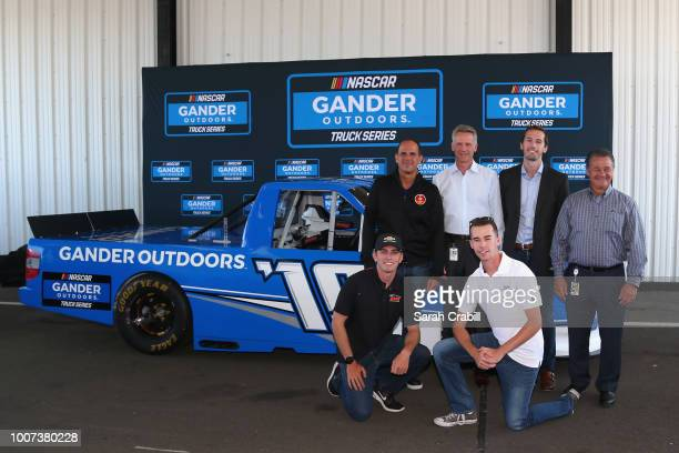 Marcus Lemonis Chairman of Gander Outdoors Camping World and Overton's NASCAR Chief Operating Officer Steve Phelps General Manager of the NASCAR...
