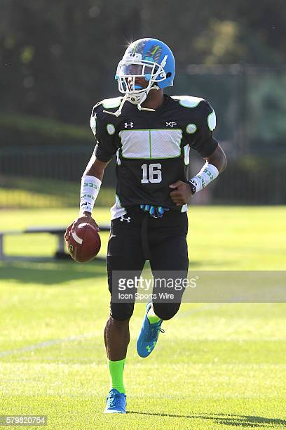 Marcus Lewis of Washington DC during the 2014 Under Armour AllAmerican practice at Disney's ESPN Wide World of Sports Complex in Kissimmee Florida