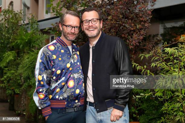 Marcus Luft and Heiko Mundt attend the 'Krug Kiosk' Event on July 11 2017 in Hamburg Germany