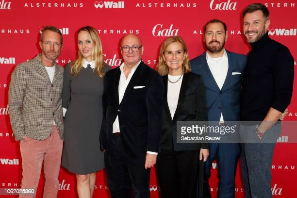 Marcus Luft coeditor in chief GALA Anne MeyerMinnemann editor in chief GALA Andre Maeder chief executive officer KaDeWe Group Petra Fladenhofer head...