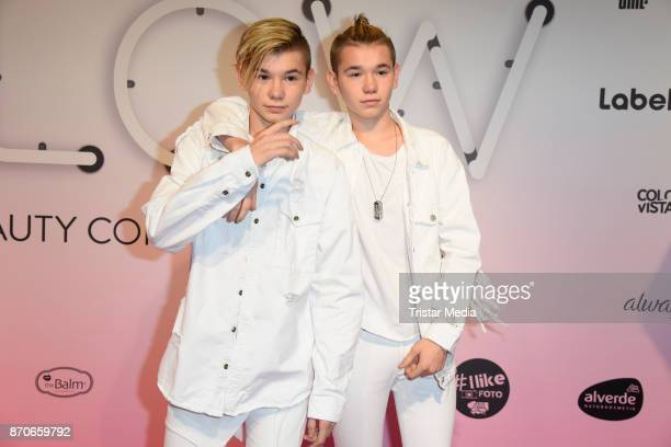 Marcus Martinus attend the GLOW The Beauty Convention at Station on November 4 2017 in Berlin Germany