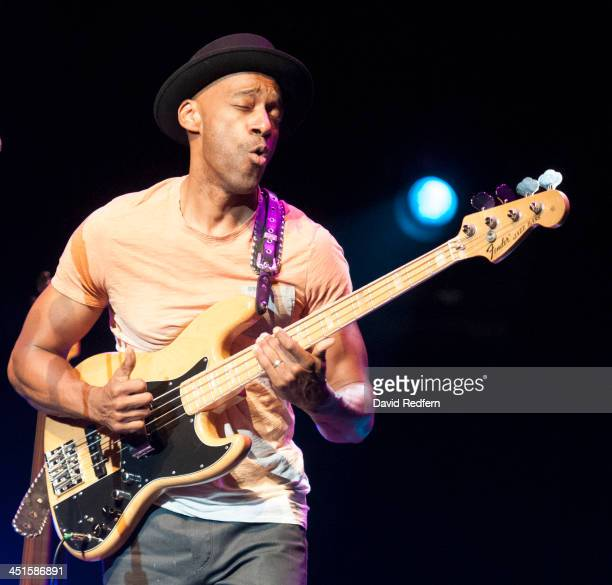 Marcus Miller performs on stage during day 9 of London Jazz Festival at The Royal Festival Hall on November 23 2013 in London United Kingdom