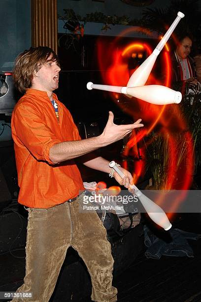 Marcus Monroe attends Jhane Barnes Patrick McMullan Fabian Basabe and AKA Host a Private Performance by Ben Jelen at NA on February 16 2005 in New...
