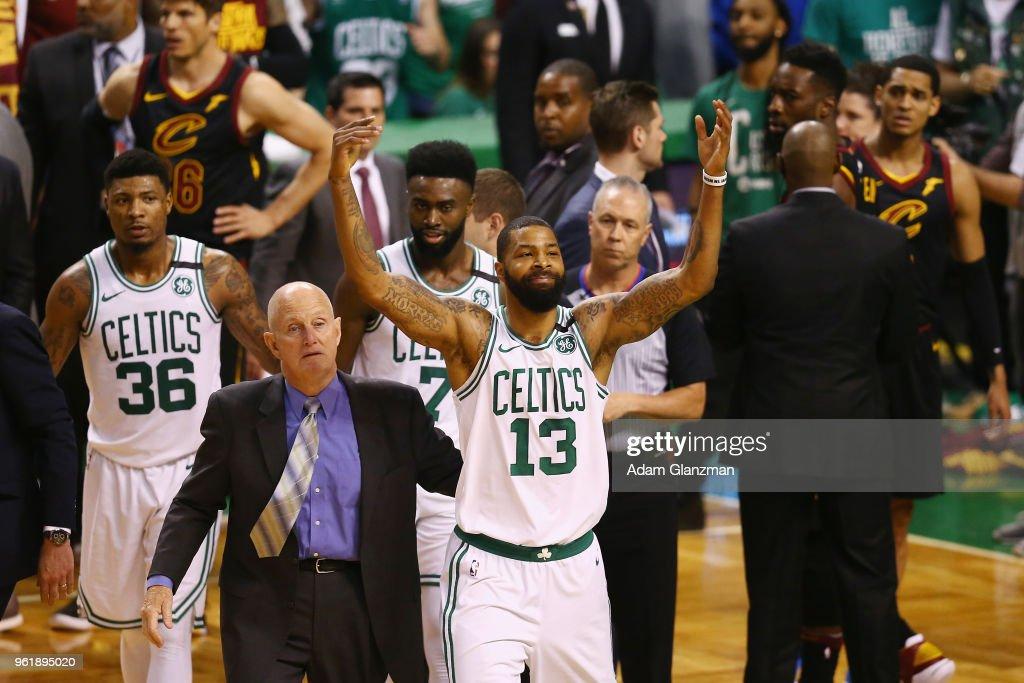 Cleveland Cavaliers v Boston Celtics - Game Five : News Photo