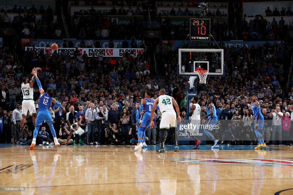 Boston Celtics v Oklahoma City Thunder : News Photo
