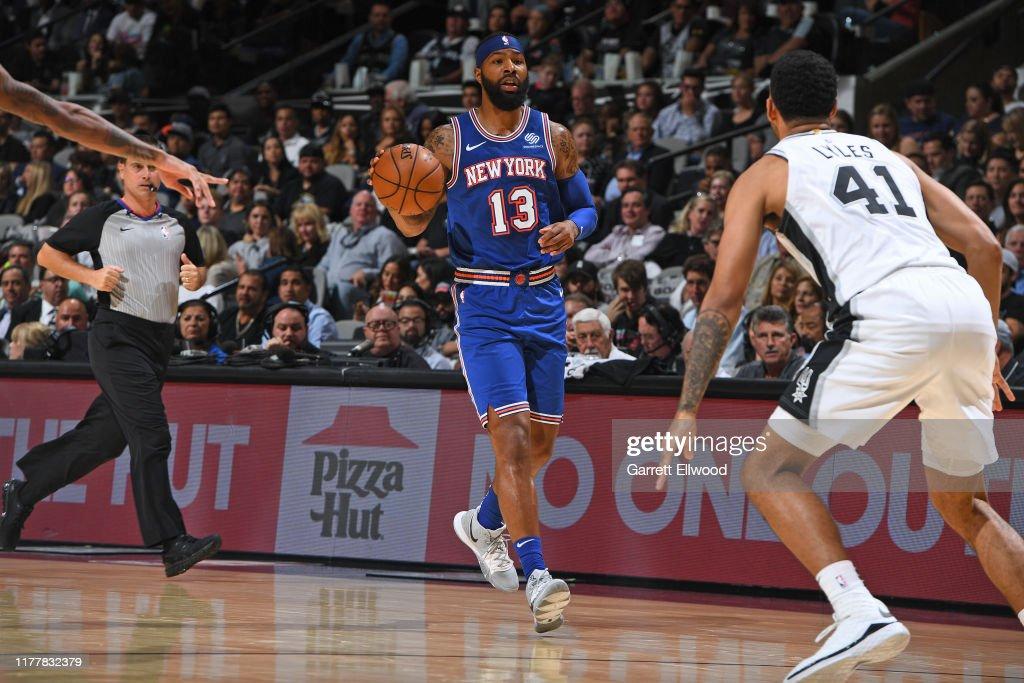 New York Knicks v San Antonio Spurs : News Photo