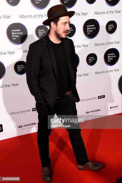 Marcus Mumford arrives at the Hyundai Mercury Prize 2017 at Eventim Apollo on September 14 2017 in London England