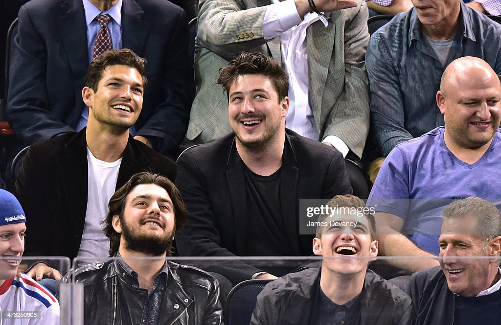Celebrities Attend The Washington Capitals Vs New York Rangers Game - May 13, 2015 : News Photo