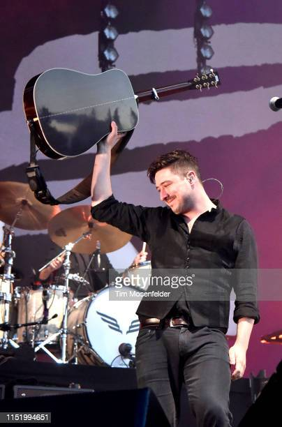 Marcus Mumford of Mumford Sons performs during BottleRock Napa Valley 2019 at Napa Valley Expo on May 26 2019 in Napa California