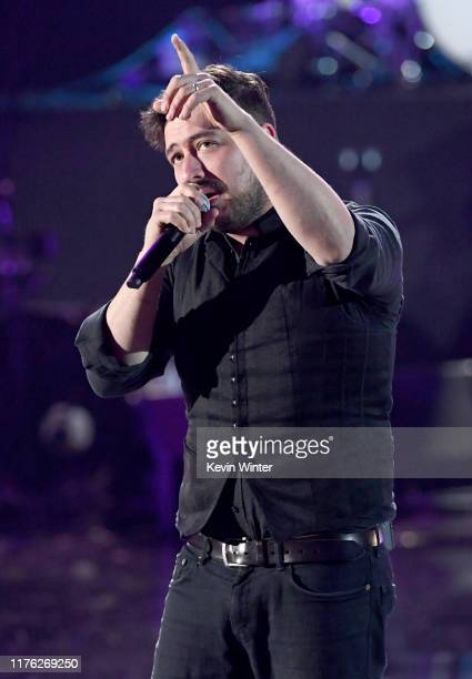 Marcus Mumford of Mumford & Sons performs onstage during the 2019 iHeartRadio Music Festival at T-Mobile Arena on September 21, 2019 in Las Vegas,...