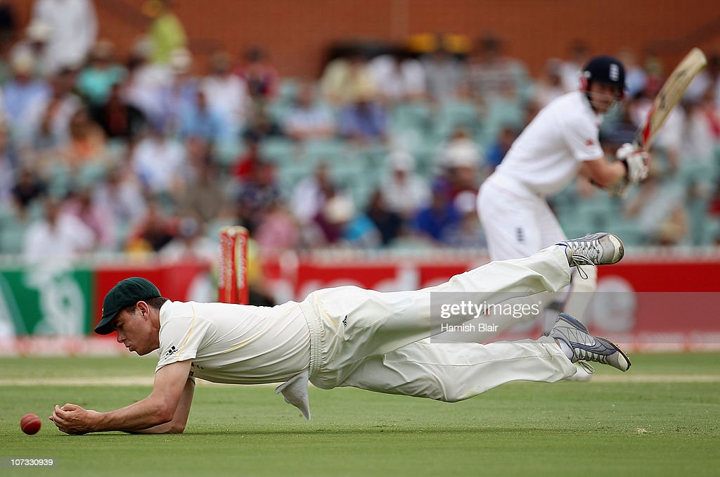 Second Test - Australia v England: Day Three