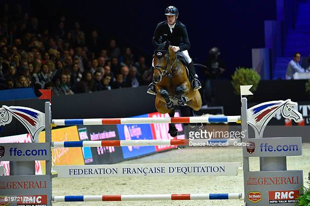 Marcus of Germany rides Comme il faut during the Grand Prix EQUITA MASTERS Longines FEI World Cup at in the EQUITA Lyon