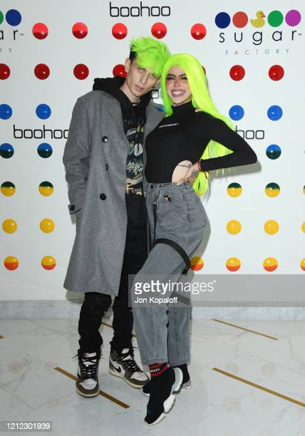 Marcus Olin and BeastEater attend Influencer Management Company Influences' Hosts Launch Party For Girls In The Valley at The Sugar Factory on March...