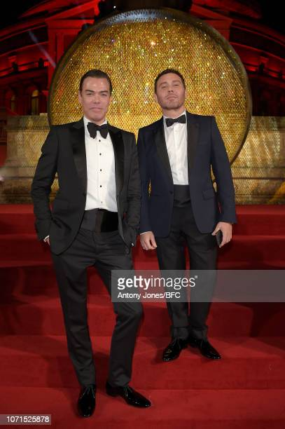 Marcus Piggott and Mert Alas attend The Fashion Awards 2018 In Partnership With Swarovski at Royal Albert Hall on December 10, 2018 in London,...