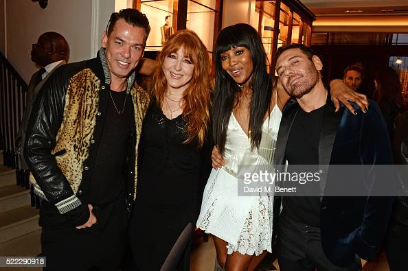 Marcus Piggott Charlotte Tilbury Naomi Campbell And Mert Alas News Photo Getty Images