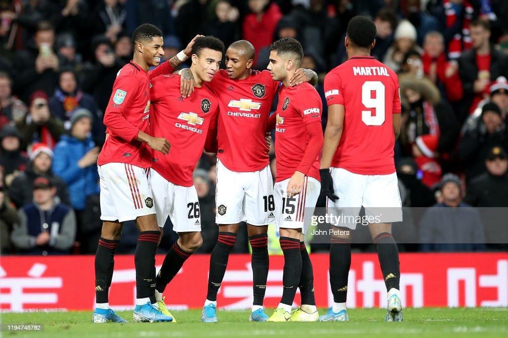 Manchester United v Colchester United - Carabao Cup: Quarter Final : ニュース写真